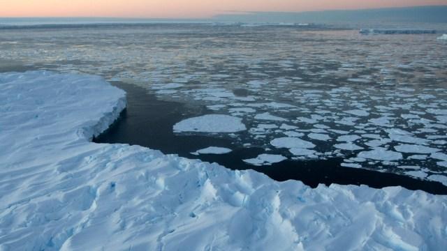 Deshielo en la Antártida por aumento de temperatura aumentaría 6.5 metros el nivel del mar