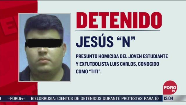 detienen a presunto homicida del exfutbolista titi