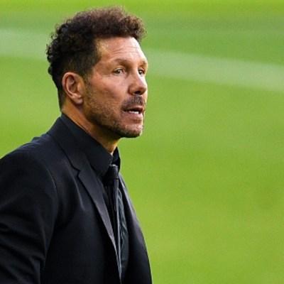 Diego Simeone, técnico del Atlético Madrid, da positivo a COVID-19