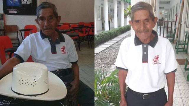 abuelito de 80 años termina el bachillerato en oaxaca