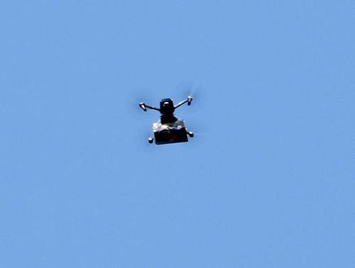 En Israel les cayó marihuana desde el cielo ya que un dron lanza cientos de bolsas de marihuana sobre Tel Aviv