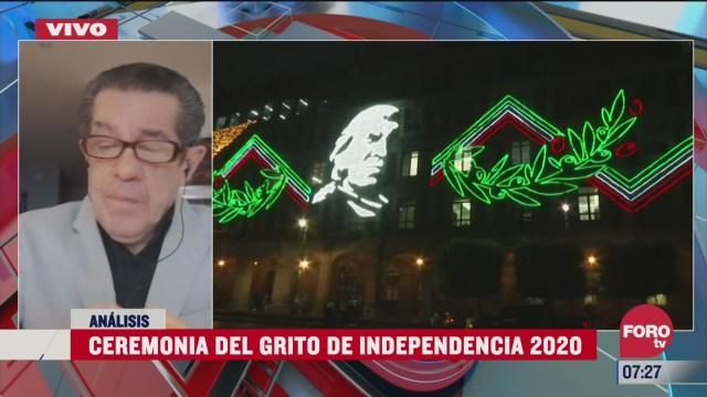el grito de independencia arenga al mexicano ausente