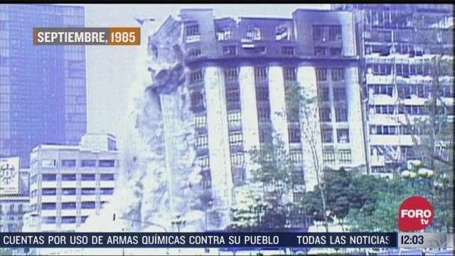el hotel regis uno de los edificios colapsados el 19 de septiembre de