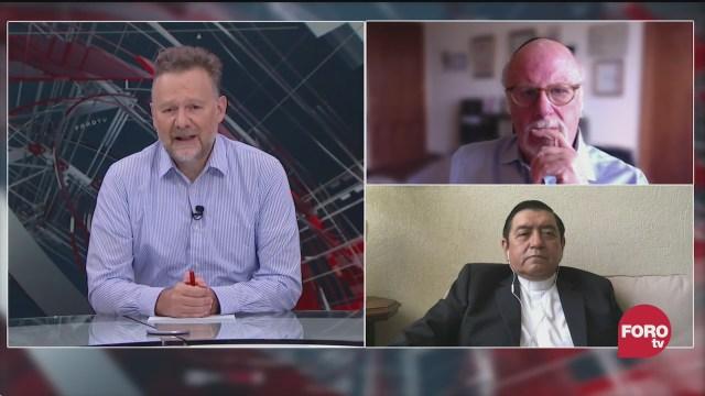 Leo Zuckermann platica con el sacerdote Hugo Valdemar y el rabino Marcelo Rittner sobre la religión en tiempos de covid 19