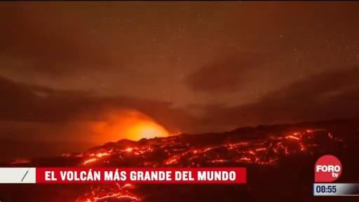 el volcan mas grande del mundo