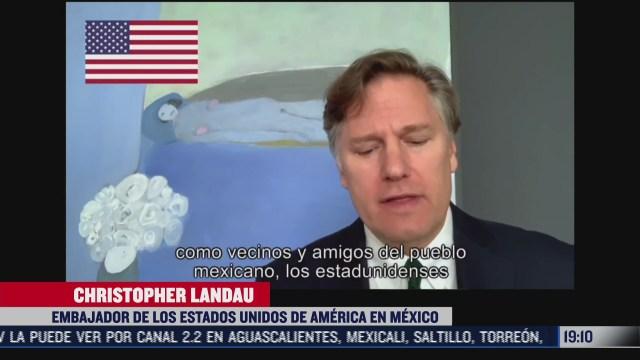 embajadores felicitan a mexico por aniversario de independencia