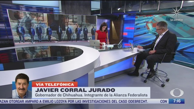 entrevista con javier corral gobernador de chihuahua para despierta