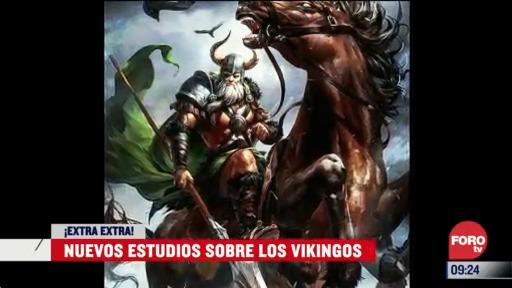 extra extra nuevo estudio sobre los vikingos
