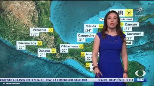 frente frio numero 3 continua provocando bajas temperaturas en el norte del pais