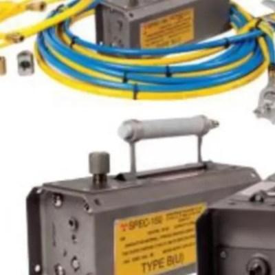 Dicho contenedor aloja en su interior una fuente radiactiva de Iridio 192 con número de serie TO431