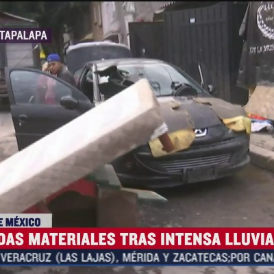 Habilitan albergue para damnificados por lluvia en Iztapalapa