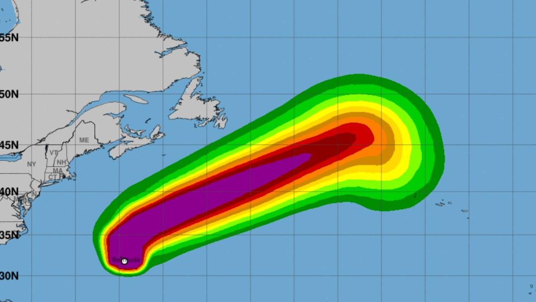 'Paulette' golpea Bermudas como huracán categoría 1; se intensificará a 2