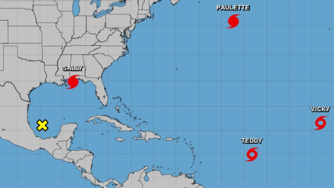 'Sally' se fortalece y se convierte en huracán categoría 2