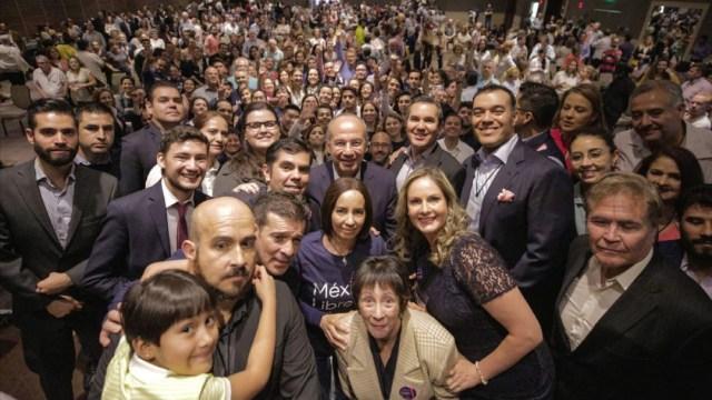 INE niega el registro al partido político México Libre, de Felipe Calderón y Margarita Zavala