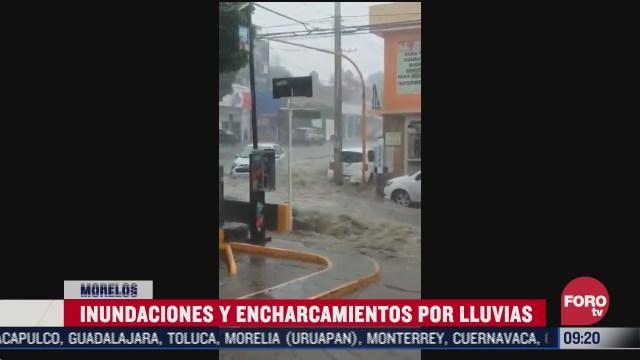 intensas lluvias causan inundaciones y encharcamientos en varios estados de mexico