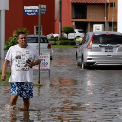Lluvias intensas en Puebla y Veracruz por humedad en Golfo de México y frente frío 2