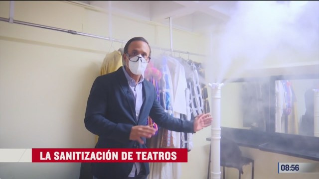 la sanitizacion de teatros parte