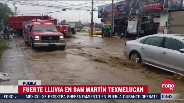 lluvias causan afectaciones en chiapas tlaxcala puebla y colima
