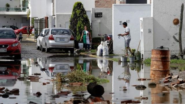 Lluvias e inundaciones en Puebla