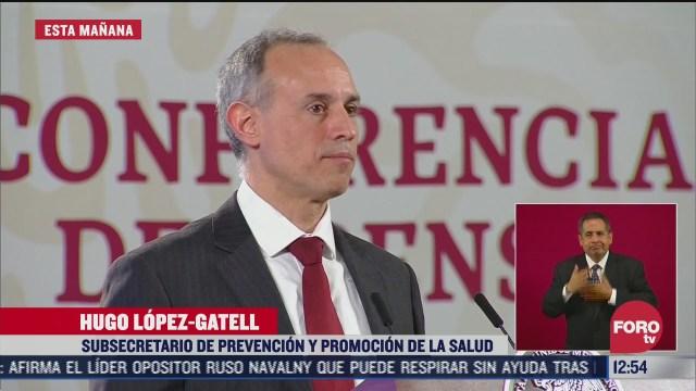 lopez gatell pide no congregarse para fiestas patrias