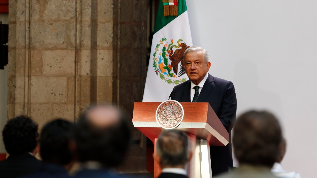 López Obrador rinde segundo Informe de Gobierno en Palacio Nacional