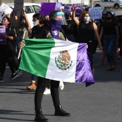 Colectivos feministas protestan por violencia machista en Cancún