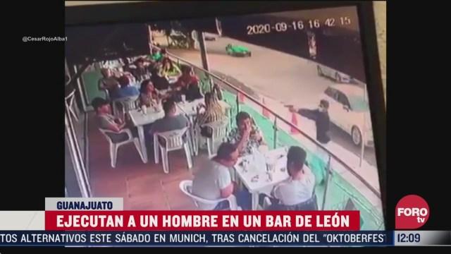 matan a tiros a un hombre a plena luz del dia en un bar