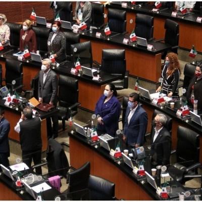Bancada de Morena en el Senado critica salida de 10 gobernadores de la Conago