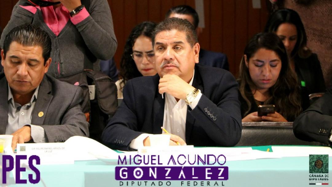 Muere Miguel Acundo, diputado federal de Encuentro Social, por COVID-19