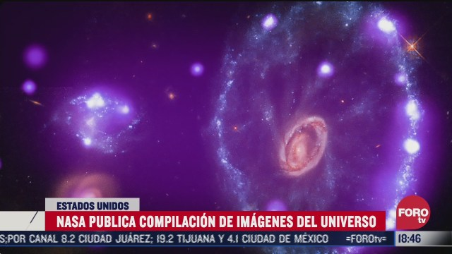 nasa difunde imagenes del universo