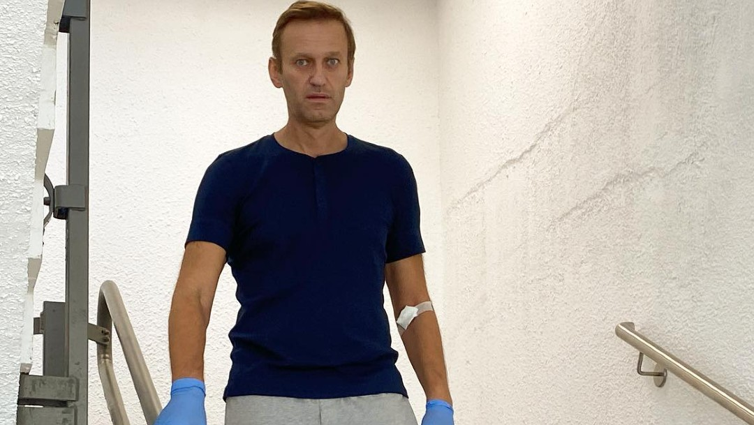 Alexéi Navalni es dado de alta en Berlín y médicos ven posible su total recuperación
