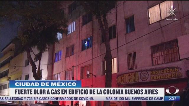 olor a gas alerta a vecinos de la colonia buenos aires en cdmx