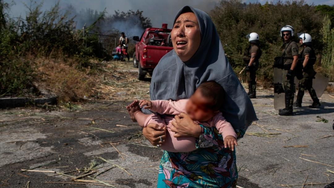 Papa Francisco pide una acogida digna a los refugiados del campo de Moria, en Grecia
