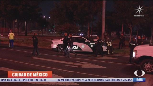 patrulla choca contra con automovil en avenida zaragoza