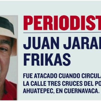Asesinan en Morelos al periodista Juan Jaramillo Frikas
