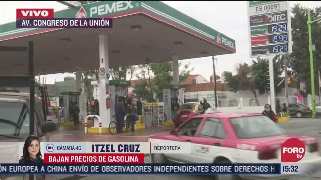 profeco anuncia precio de la gasolina en 18 92 gasolineras la venden en mas de 20 pesos