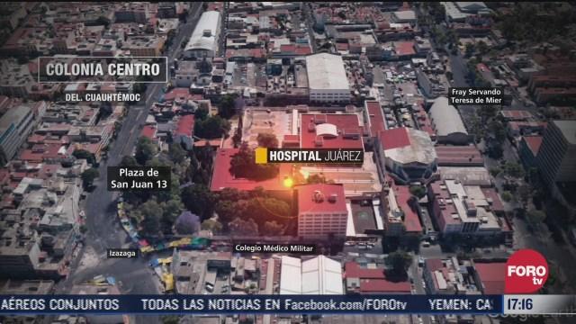 radiografia del hospital juarez tras el sismo de