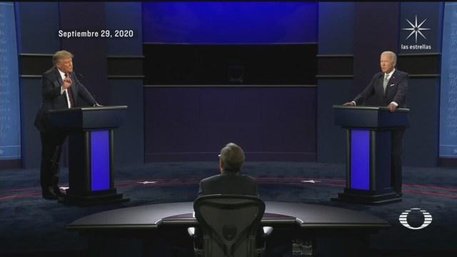 reacciones tras el debate trump biden