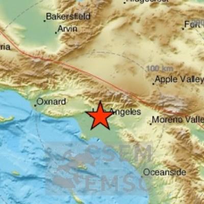 Sismo de magnitud 4.6 sacude Los Ángeles, California