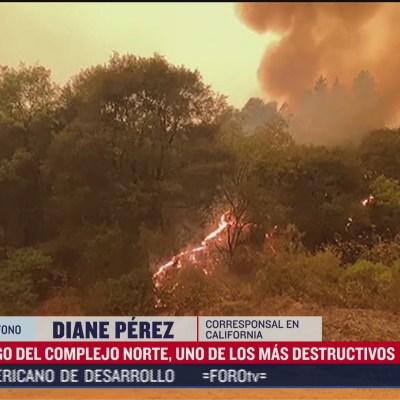 Surgen más  incendios forestales en California