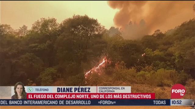 surgen mas incendios forestales en california