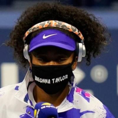 Tenista Naomi Osaka usa cubrebocas en honor a mujer afroamericana asesinada en EE.UU.