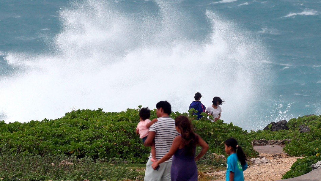 El poderoso tifón Hishen