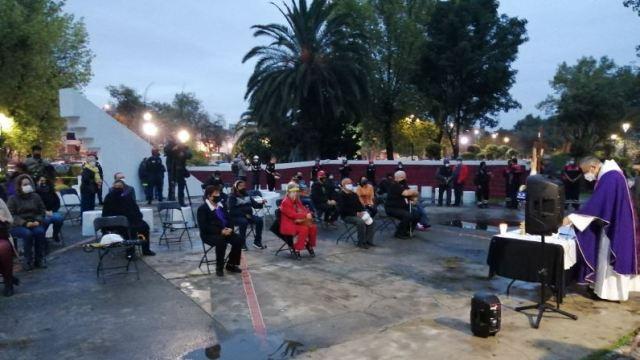Con misa recuerdan a fallecidos por sismo de 1985 en Tlatelolco