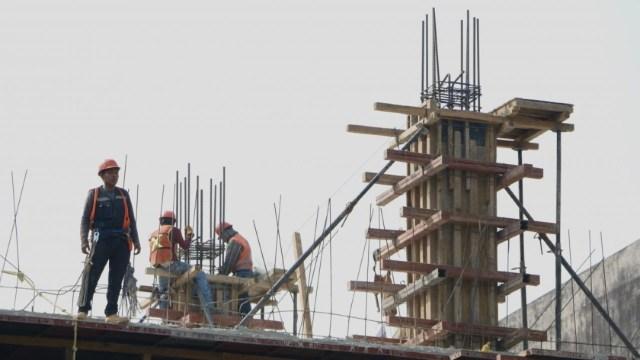 Trabajador de la construcción en México
