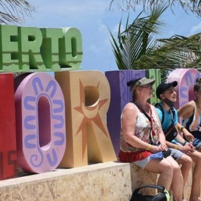 Turismo internacional en México cayó 66.6% en julio