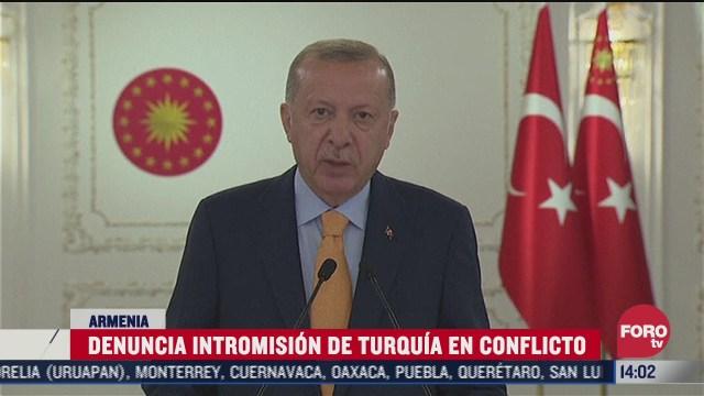 turquia expresa apoyo a azerbaiyan