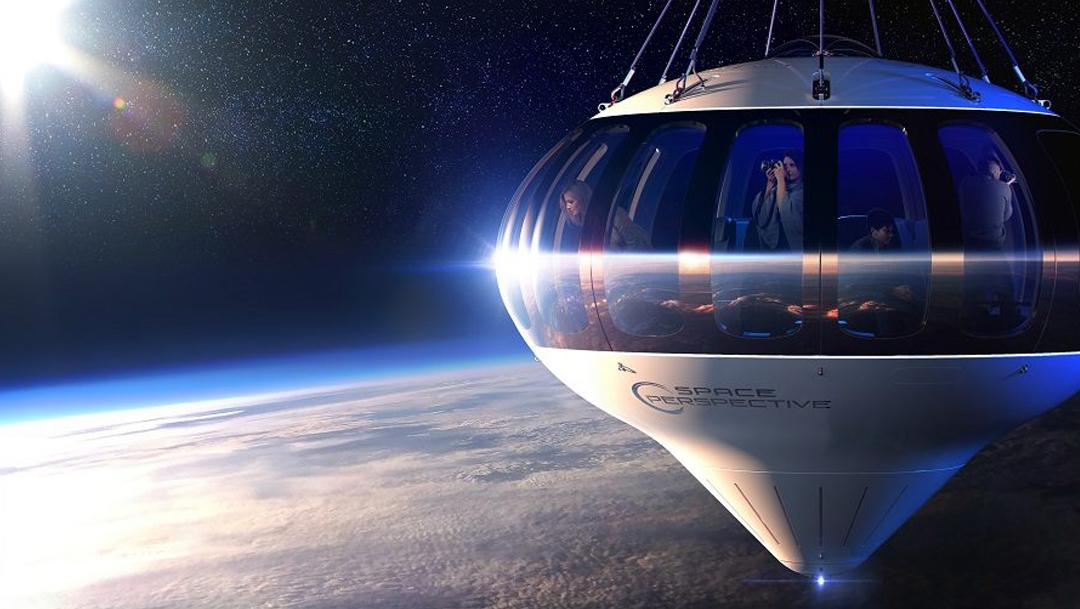 Spaceship Neptune podría ser la próxima etapa en el turismo espacial, ya que se podría viajar en globo al espacio