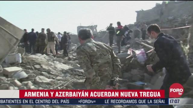 armenia y azerbaiyan acuerdan alto al fuego