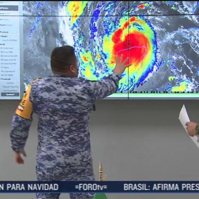 Así opera el centro de monitoreo de huracanes de Sedena
